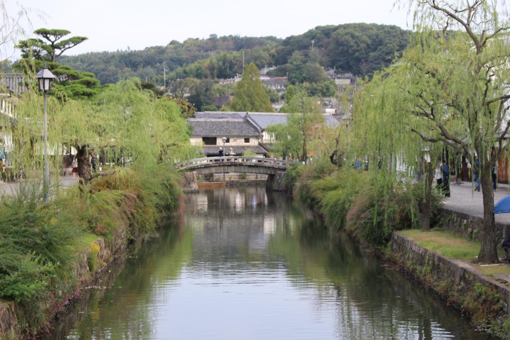 【車中泊日本一周12日目】一度は目にしたい景観、倉敷美観地区を巡る!  【岡山~大阪】