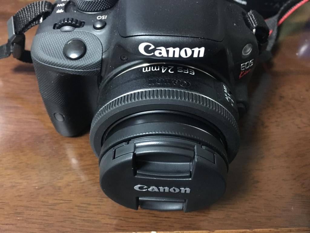 【レビュー】canon EFS 24mm 購入!〜単焦点レンズ買っちゃいました〜