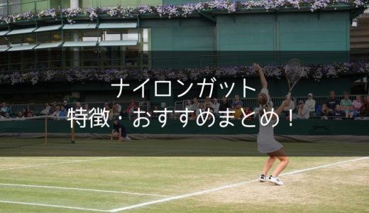 【テニスコーチが解説】ナイロンガットの特徴・人気・おすすめまとめ!【万人向け】