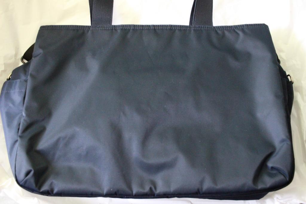 【無印良品】高密度ナイロンツイルボストンバッグがいい感じ!〜高密度だけでなく高性能です〜