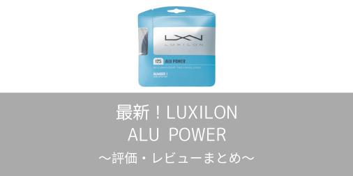 【ルキシロン】アルパワーの評価・レビューまとめ【インプレ】