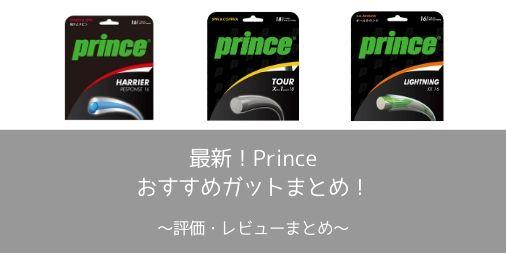 【評価・レビュー】2020年最新!Prince(プリンス)のおすすめガットまとめ!【シリーズ別の特徴も】