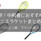 【2020年最新】テニス中級者におすすめしたい人気テニスラケットまとめ【スピン系・フラット系】